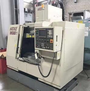 Hardinge Vmc 600 Cvc Vertical Machining Center Cnc Mill With Fanuc Cnc Cat 40