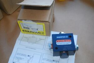 Enerpac V 42 Hydraulic Flow Pressure Control Valve New