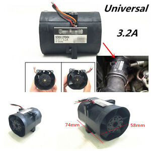 Universal Car Suv Electric Turbo Double Fan Super Charger Boost Intake Fans 3 2a
