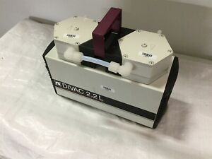 Leybold Divac2 2l Vacuum Pump Voltage 115vac Pressure Rating 1 Bar Max