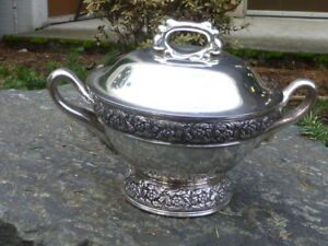 Antique Tiffany Co Sterling 3 5 Pint Size Soup Tureen Circa 1880 S