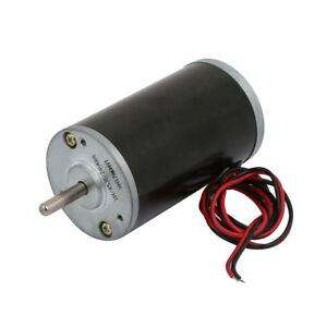 Rs 4575 3200 Rpm Dc12v Dc 5mm Dia Shaft Brushed Gear Box Motor W 2 Wires