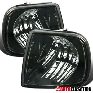 For 1997 2003 Ford F150 Expdition Smoke Lens Corner Turn Signal Lights Lamps