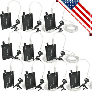10pcs Usa With Clip on Led Head Light Lamp For Dental Surgical Binocular Loupes