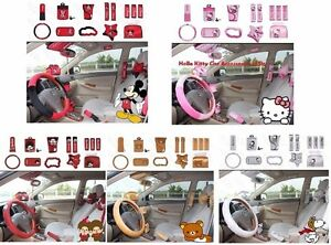 Best Gift Cartoon Character Car Accessories 14 Pcs