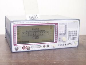 R s Cmd57 Digital Communication Tester With Options G683