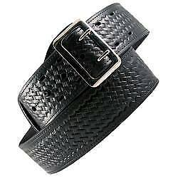 Boston Leather 6500 3 34 Black Bw Nickel Hw Sam Browne 2 1 4 Duty Belt 34