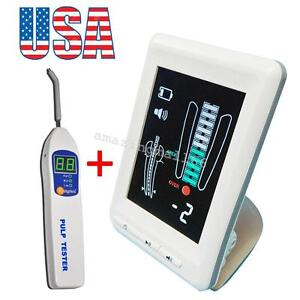 Usa Dental Endo Apex Locator Finder Root Canal Color Lcd Pulp Tester Nerve Teeth