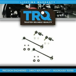 Front Rear Sway Bar End Link Kit Set 4pc For Mazda 3 Speed Turbo New
