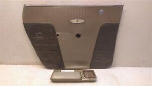 Drivers Left Rear Interior Door Panel With Arm Rest For 1962 Buick Skylark