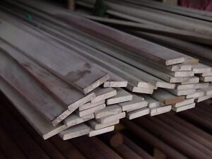 Alloy 304 Stainless Steel Flat Bar 1 2 X 1 1 4 X 72