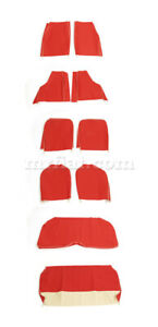 Fiat 600 Multipla Red Seat Covers New