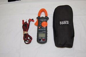 Klein Tools Cl100 Ac Clamp Meter 600a With Case Pre owned
