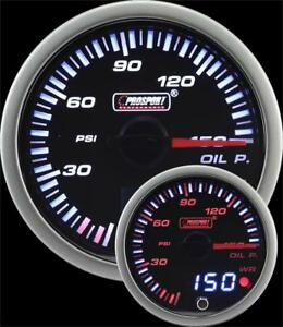 Prosport 60mm Jdm Oil Pressure Gauge