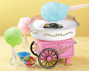 Vintage Style Cotton Candy Maker Machine Use Hard Or Sugar free Pcm 305 Pink