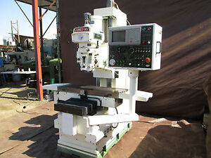 1997 Mighty Comet 3 axis Cnc Bed Mill Model Mv 5 With Mitsubishi Control