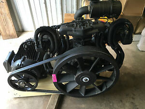 Ingersoll Rand 2000e25 fp 25 hp Two stage 3 Cylinder Air Compressor Cfm 82 New