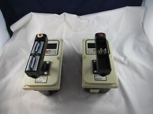 2 Victoreen Ion Chamber Model 450p Radiation Meters Geiger Counters