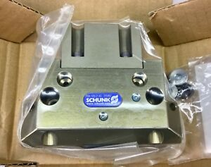 Schunk Pgn100 2 as 2 finger Pneumatic Parallel Gripper 370452 New In Box