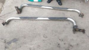 Pair Of Aftermarket Running Boards With Brackets For 1995 Chevrolet Tahoe