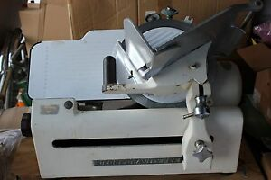 Globe Commercial Meat Cheese Slicer Model 260 Gravity Feed Local Pickup 34482