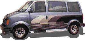 Fiberglass Running Boards Chevy Astro Gmc Safari Chevrolet Early Model