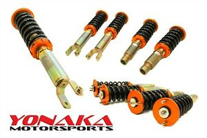 Yonaka Coilovers Da Acura Integra 90 93 Shocks Struts Springs Suspension Kit