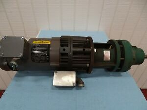 Baldor Vm3534 Electric Motor 1 3hp 230 460v 1 6 8a 1725rpm 3ph Sm cyclo Reducer