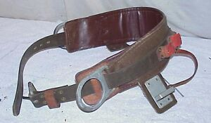 New old stock Buckingham Dr Lineman Safety Climbing Belt Size 26 Mod 1902