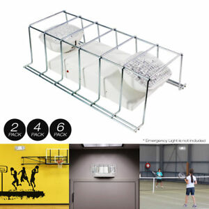2 4 6 Pack Wire Guard Metal Cage Cover For Light Fixture exit Sign 16 x9