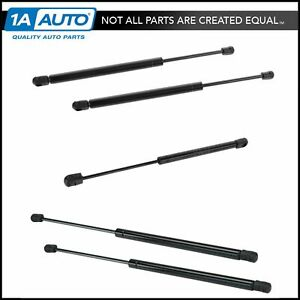 Hood Hatch Glass Lift Support Kit Set Of 5 For Jeep Grand Cherokee
