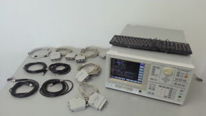 Keysight Agilent 4156c Semiconductor Parameter Analyzer W Calibration