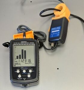 Hioki 3144 20 Noise Search Tester With Clamp on Voltage Sensor Tested Good