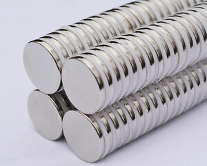 10 25 50 100pc 25mm X 3mm 1 X 1 8 N52 Strong Disc Rare Earth Neodymium Magnet