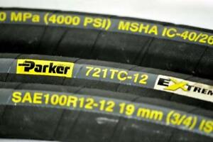6ft Parker 721tc 20 Extreme 3000 Psi 1 1 4 Hydraulic Hose