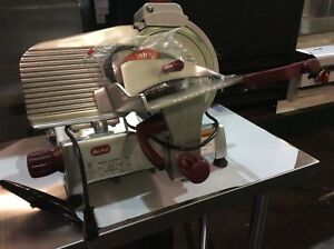 Berkel 825e plus Commercial 10 Manual Gravity Feed Meat Slicer 1 4 Hp