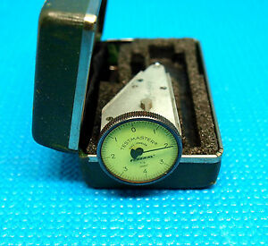 Federal 0001 Vertical Testmaster T 6 Dial Test Indicator Jig Bore