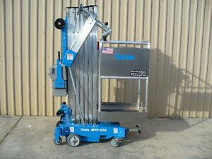 2018 Genie Awp 30s Personnel Single Man Aerial Lift Scissor Boom Work Platform