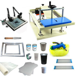 Techtongda Cylinder Screen Printing Kit Cylinderical Screen Printing Machine New