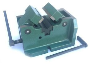 4 H v Machine Vise For Holding Shafts And Round Pipe
