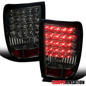 For 2006 2011 Ford Ranger Smoke Full Led Tail Brake Lights Turn Signal Lamps