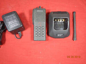 Kenwood Tk290 Tk 290 Vhf 146 174 160ch 5watt Radio With Antenna Dtmf Lot 12