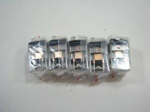 Lot Of 5 Ced348 13 Spdt 120vac Square Base General Purpose Relays New