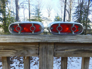 1 Or 2 1959 Plymouth Station Wagon Plybr Tail Lights