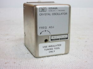 Hp 10544a Ovenized Crystal Oscillator 10 Mhz Rf Out Bench Tested free Ship