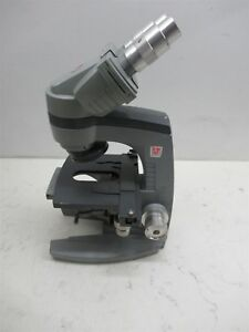 Ao American Optical 10 8 Spencer Binocular Microscope Base Unit No Lenses Lab