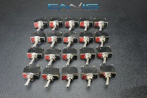 20 Pcs Toggle Switch Spst On Off Toggle 10 Amp 250v 15 Amp 125v 2 Pin Ec 1522