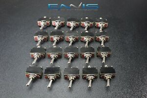 20pcs Toggle Switch Spdt Center Off Toggle 10 Amp 250v 15 Amp 125v 3 Pin Ec 1523