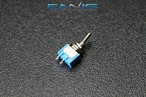 Toggle Switch Spst On Off Mini Toggle 3 Amp 250v 6 Amp 125v 2 Pin Ec 2510