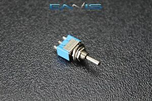 Toggle Switch Spdt On Off On Mini Toggle 3 Amp 250v 6 Amp 125v 3 Pin Ec 2530